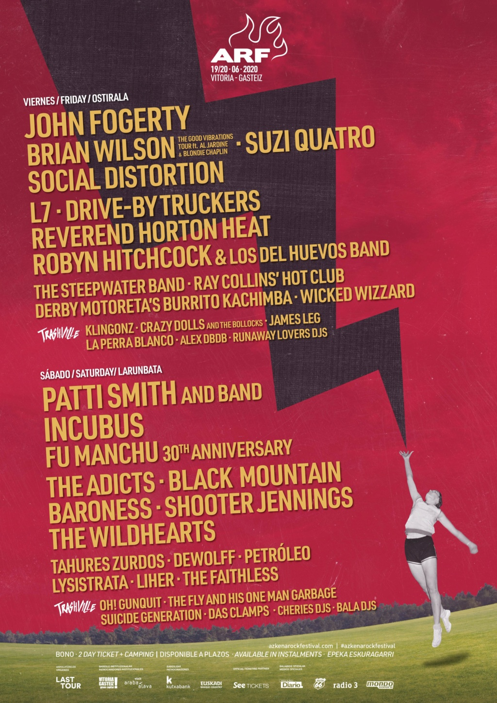 Azkena Rock Festival 2021. 17-18-19-Junio!!! 3 días. Iggy Pop!!!!. Black Mountain, Brian Wilson, Fu Manchu, L7, Patti Smith, Social Distortion.... - Página 12 Eqgam810