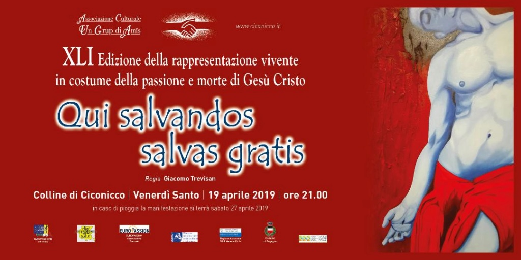 41a Rappresentazione Sacra in costume della Passione - 19 marzo 2019 Invito10