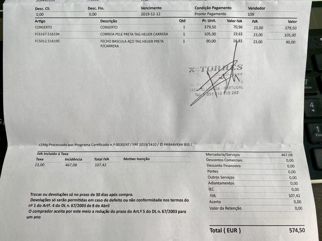 [VENDIDO] Heuer Carrera Re-edition 1964, ref. CS3113 59fec910