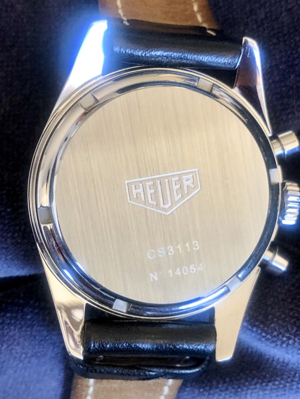 [VENDIDO] Heuer Carrera Re-edition 1964, ref. CS3113 701c9d10