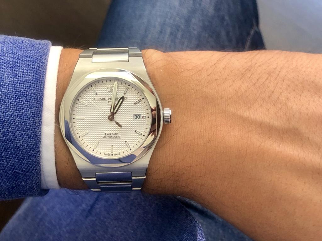 [Vendido] Relógio Girard-Perregaux Laureato, edição limitada 225.º aniversário 73b93c10
