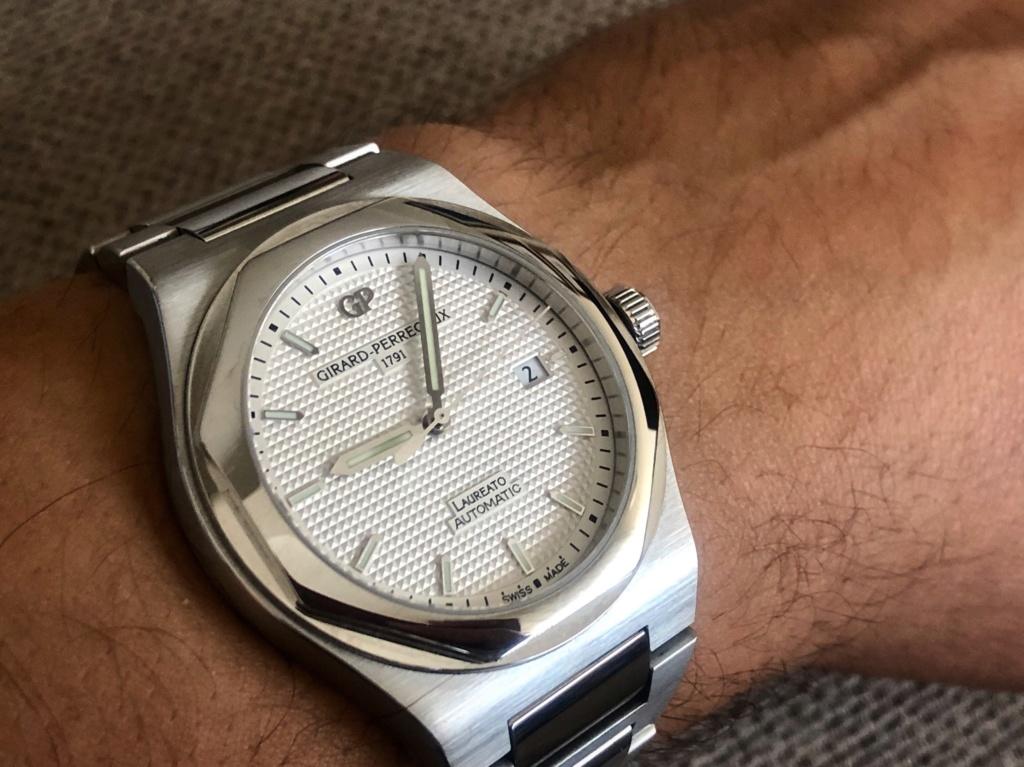 [Vendido] Relógio Girard-Perregaux Laureato, edição limitada 225.º aniversário Bhig9511