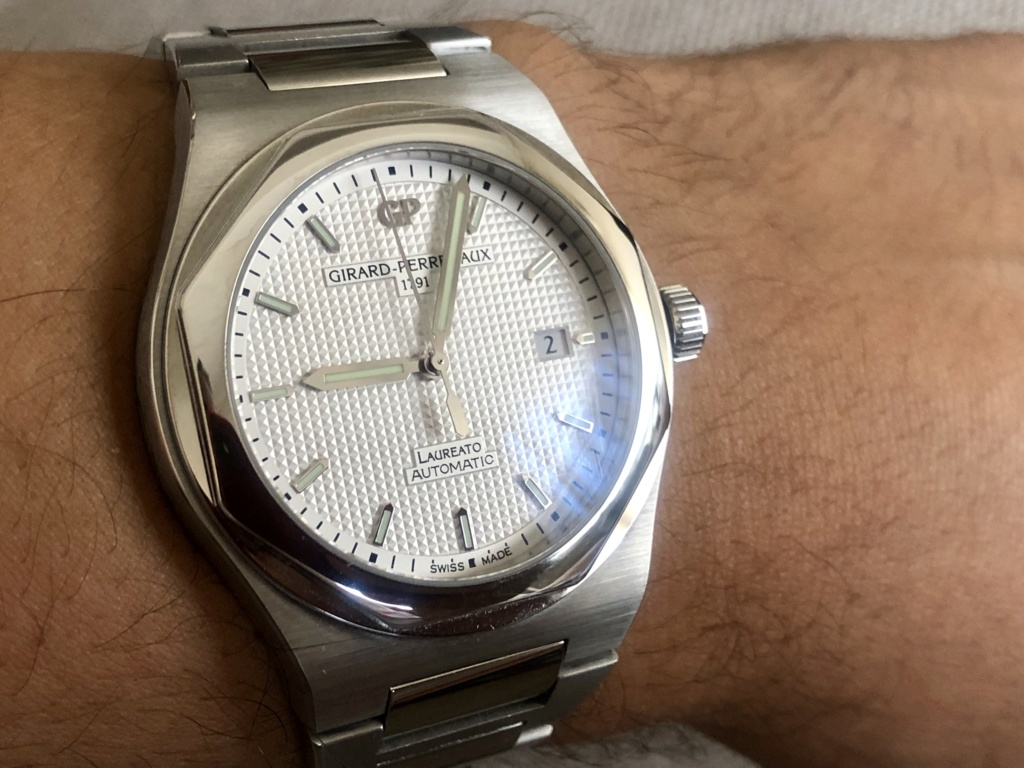 [Vendido] Relógio Girard-Perregaux Laureato, edição limitada 225.º aniversário Img_e442