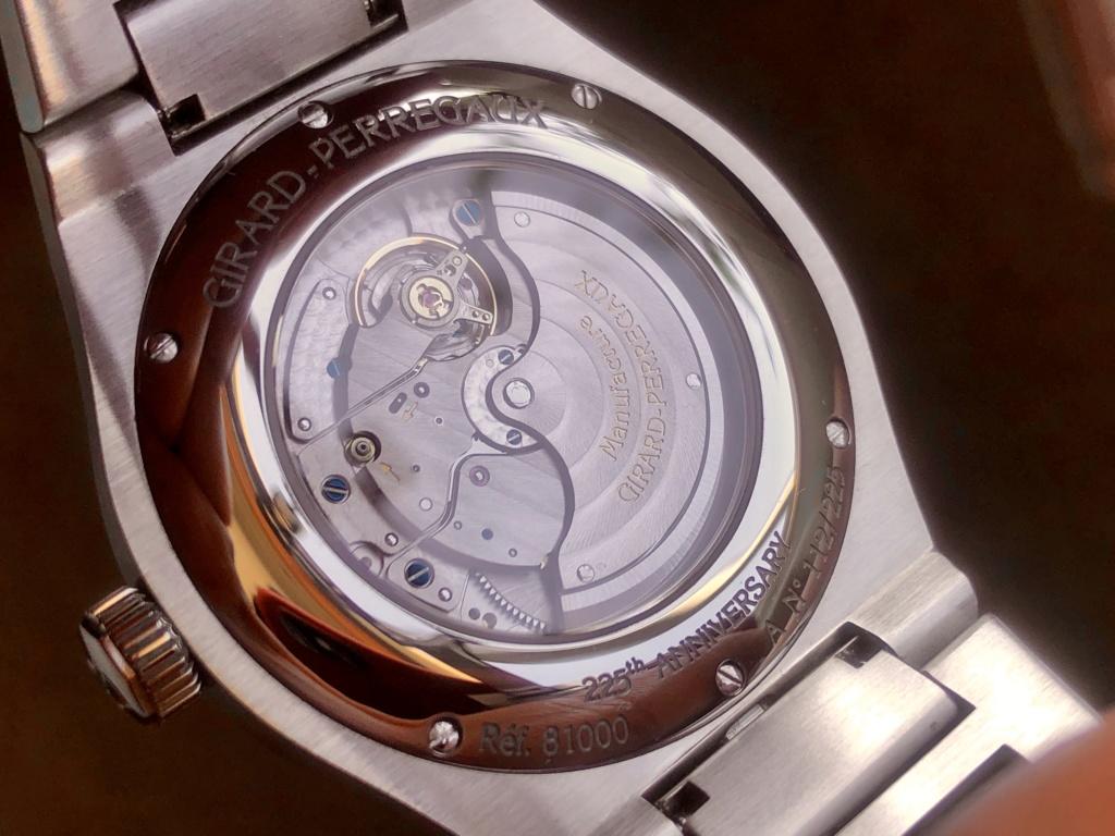 [Vendido] Relógio Girard-Perregaux Laureato, edição limitada 225.º aniversário Img_e447