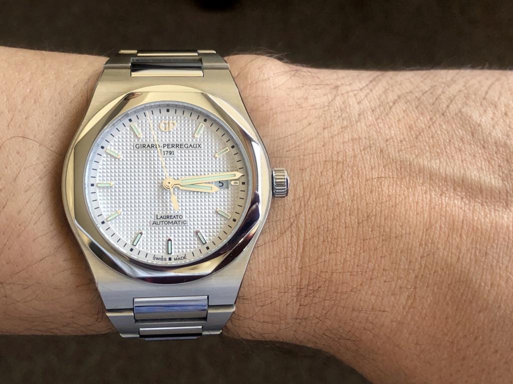 [Vendido] Relógio Girard-Perregaux Laureato, edição limitada 225.º aniversário Img_e449