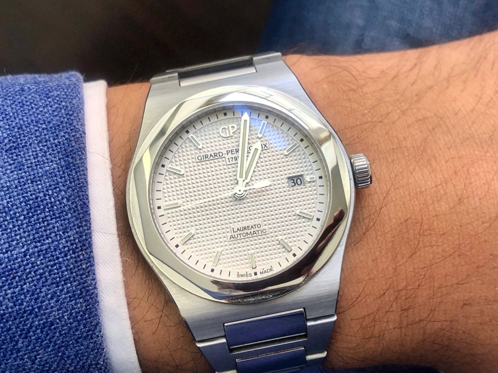 [Vendido] Relógio Girard-Perregaux Laureato, edição limitada 225.º aniversário Ntmu8711