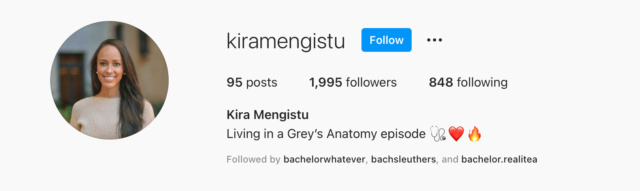 Kira Mengistu - Bachelor 26 - Discussion - **Sleuthing Spoilers** 96561610