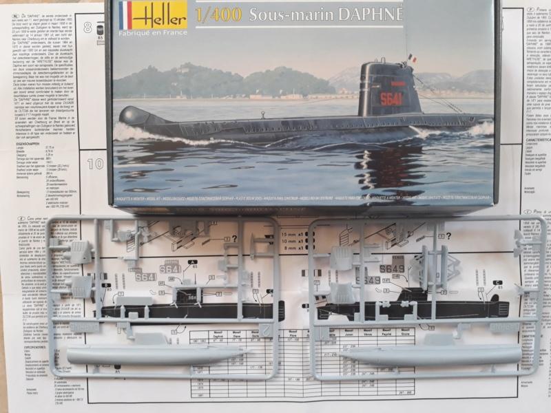 Sous-marin 800 tonnes 1/400 Heller 20190510