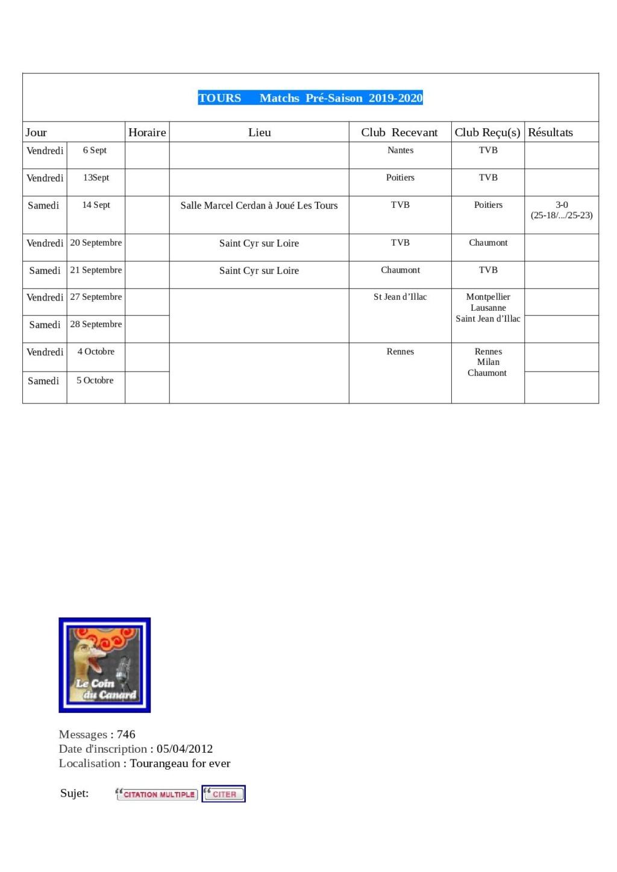 [Ligue A-AF-B] Matchs amicaux et tournoi de préparation (Saison 2019-2020)   - Page 2 Matchs12