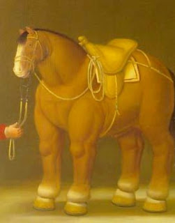 I cavalli di  Botero Horse111