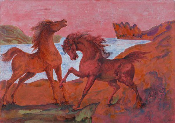I cavalli di Aligi Sassu Ilciel10
