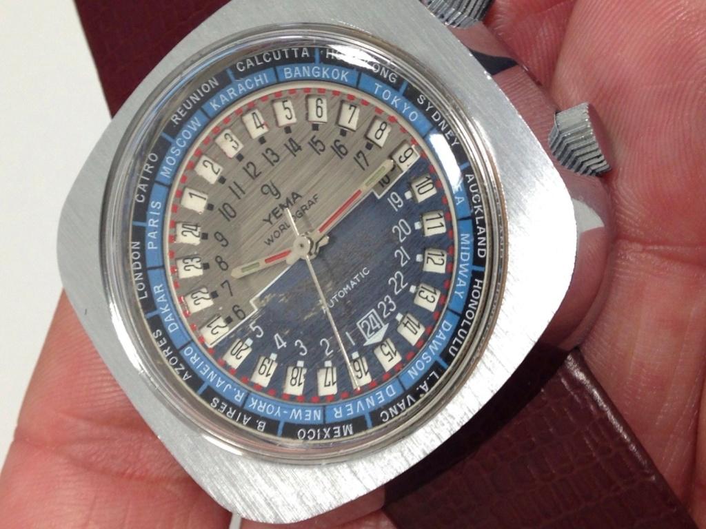 YEMA WORLGRAF Automatique - modèle 1969 - un modèle atypique 0b1bc310