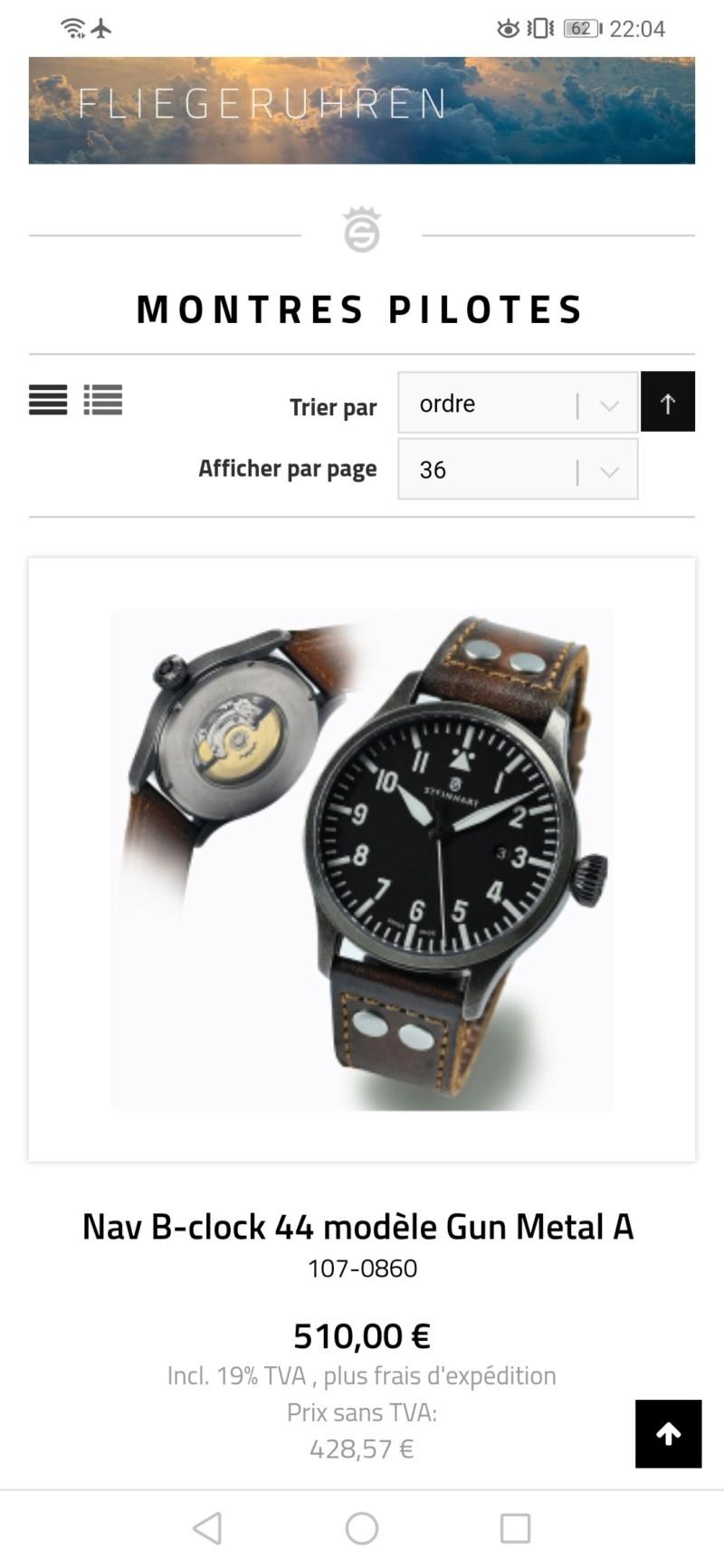 Le club des incontournables amateurs férus d'horlogerie et de Steinhart - tome 4 - Page 18 20190815