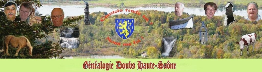 Généalogie Doubs Haute-Saône