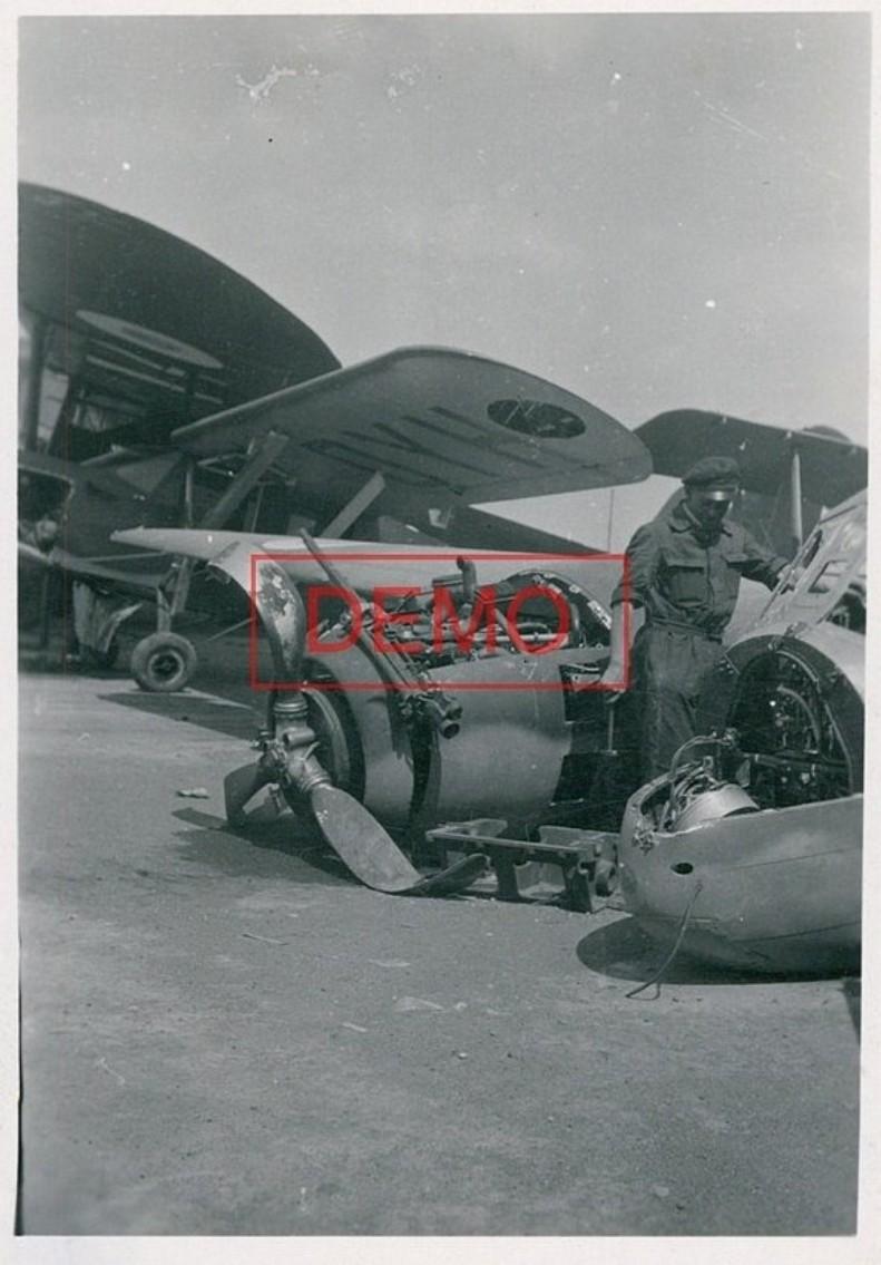 Recherches sur la base aérienne de d'Orléans-Bricy en 1940 Bre69310
