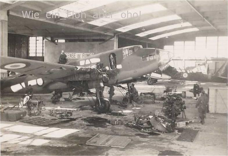 Recherches sur la base aérienne de d'Orléans-Bricy en 1940 Leo45110