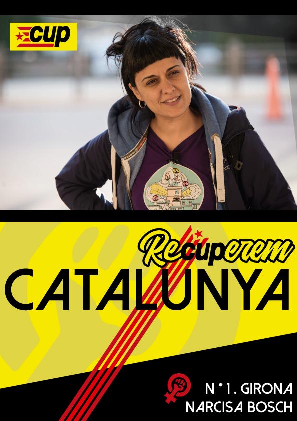 Candidatura d'Unitat Popular | ReCUPerem Catalunya Cartel10