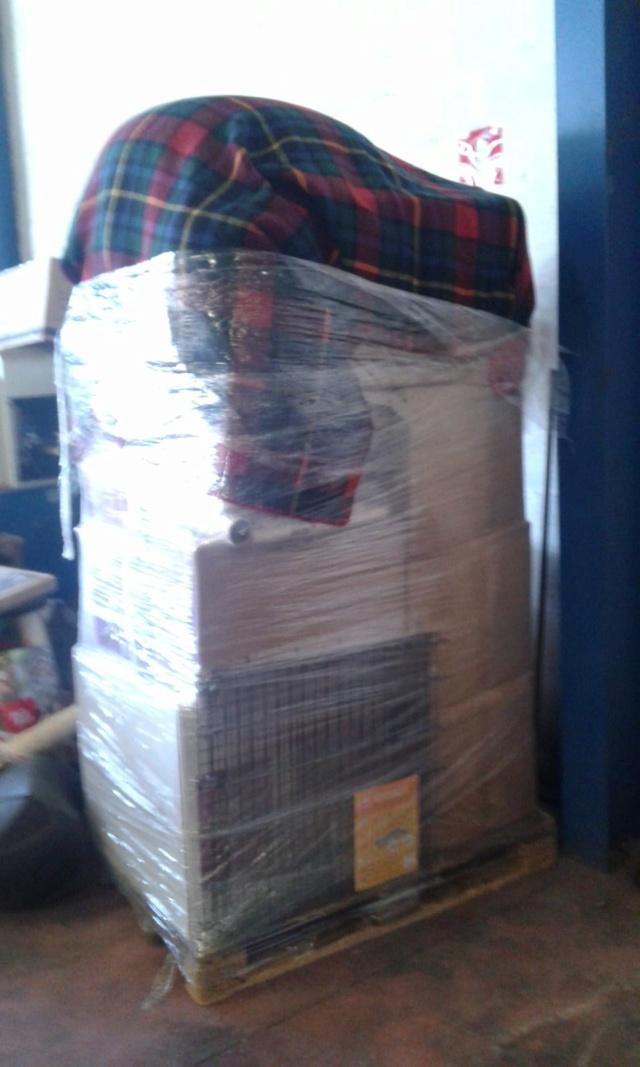 3 pallets voor Canis y Felis zijn aangekomen 0f1f7110