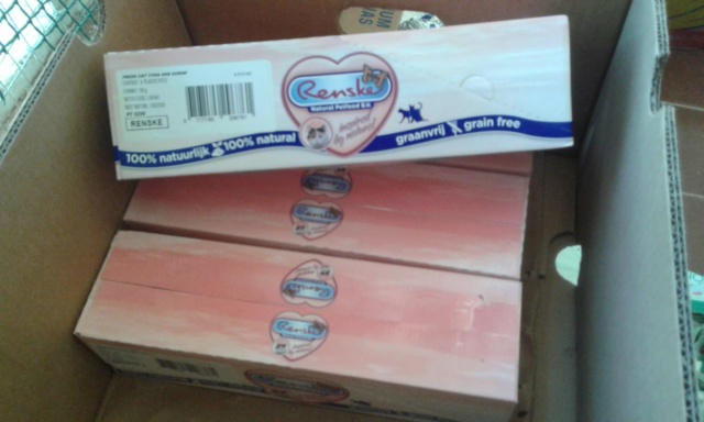 3 pallets voor Canis y Felis zijn aangekomen 96394310