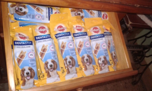 3 pallets voor Canis y Felis zijn aangekomen 97e12210