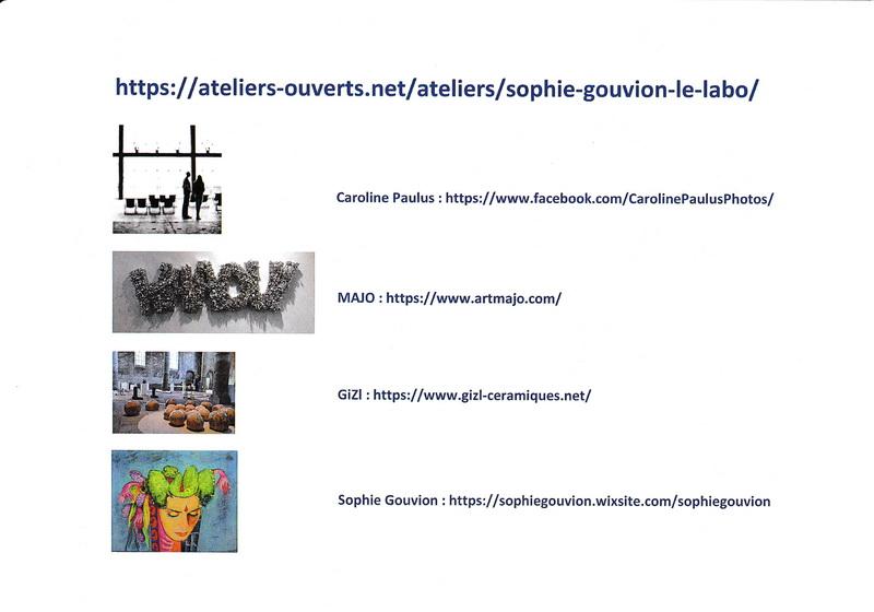 """Goxwiller (67), les 3-4 & 10-11 octobre 2020, """" Les Ateliers Ouverts """" Atelie11"""