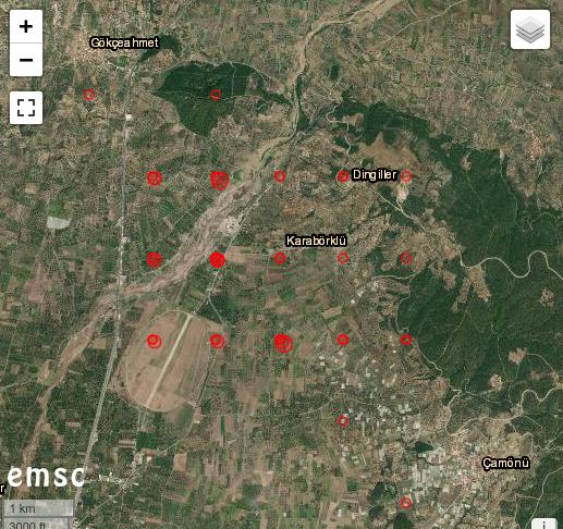 Erdbeben in der Türkei Seismo10
