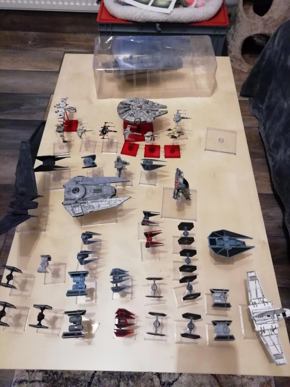 [Biete] X-Wing Sammlung hauptsächlich Imp+ paar Reb 110