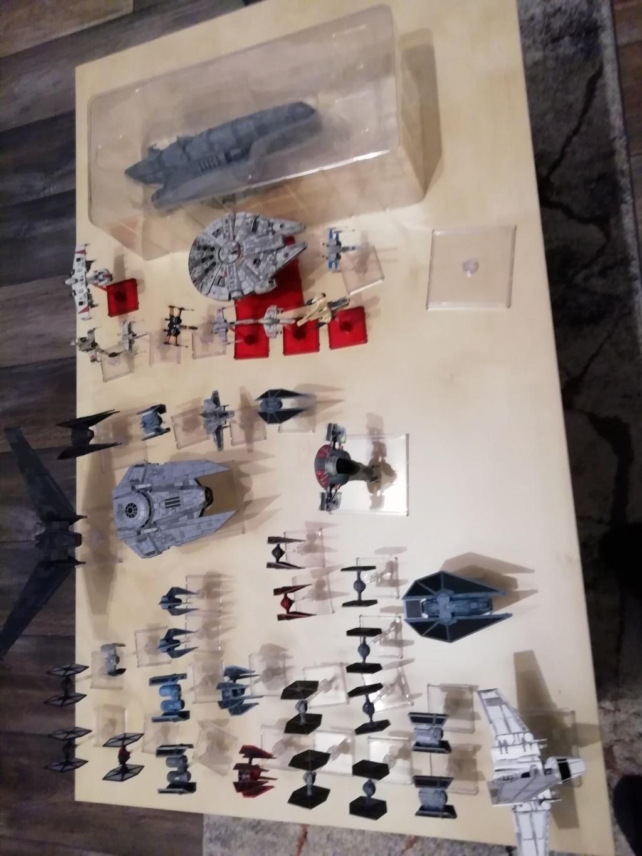 [Biete] X-Wing Sammlung hauptsächlich Imp+ paar Reb 210