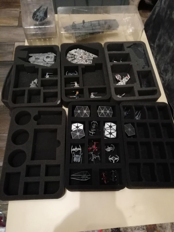 [Biete] X-Wing Sammlung hauptsächlich Imp+ paar Reb 310