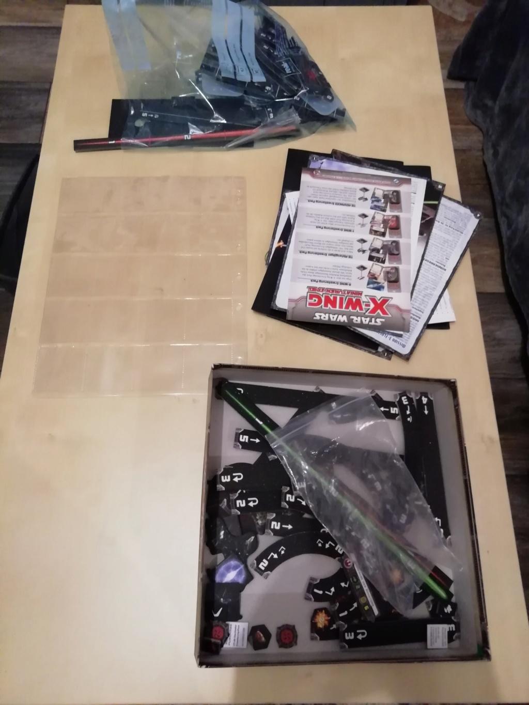 [Biete] X-Wing Sammlung hauptsächlich Imp+ paar Reb 510