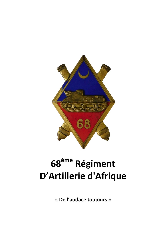 68éme Régiment D'Artillerie d'Afrique 68zome10