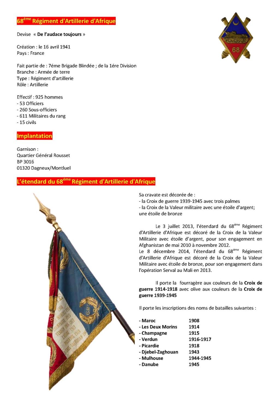 68éme Régiment D'Artillerie d'Afrique 68zome11