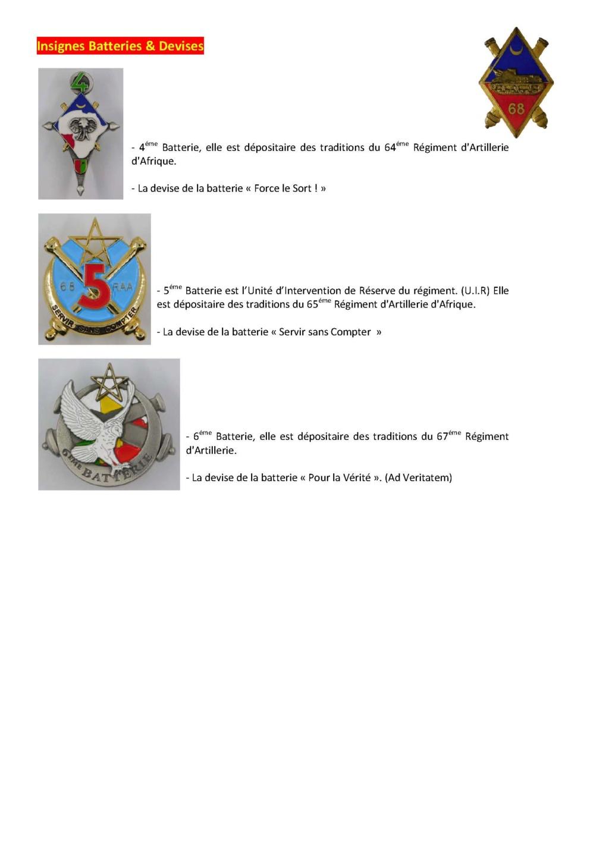 68éme Régiment D'Artillerie d'Afrique 68zome20