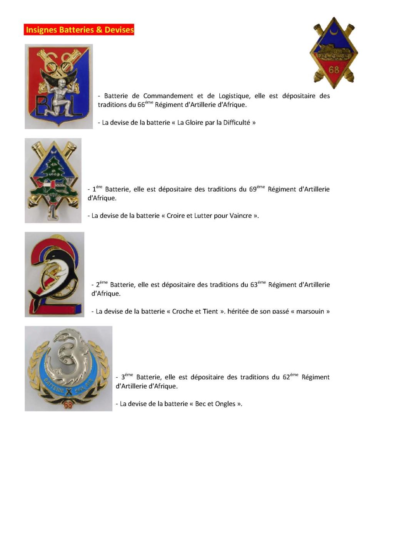 68éme Régiment D'Artillerie d'Afrique 68zome21