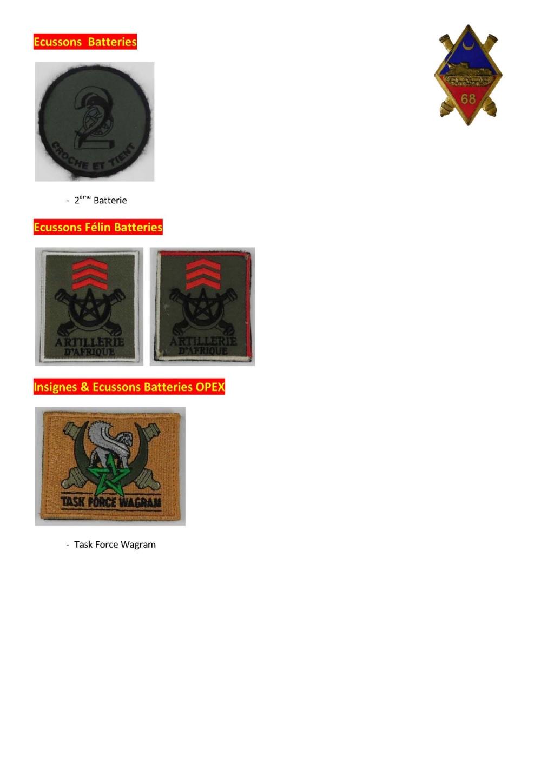 68éme Régiment D'Artillerie d'Afrique 68zome22