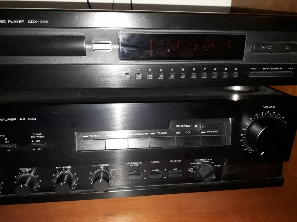 Nessun suono dall'amplificatore se utilizzo giradischi . CD funziona ma solo co CD Direct  Yamaha11