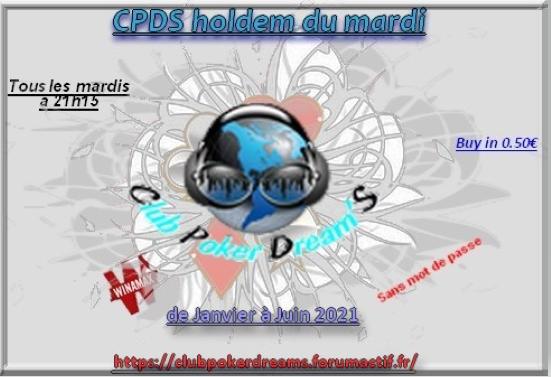 CPDS Holdem du Mardi - 1er Semestre 2021 - 210