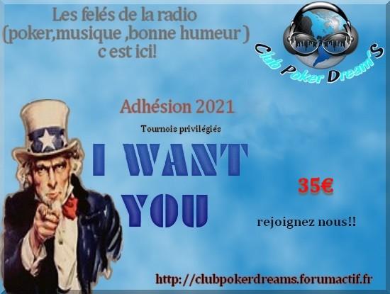 Adhésion RadioPokerDreamS 2021 Adhzos12