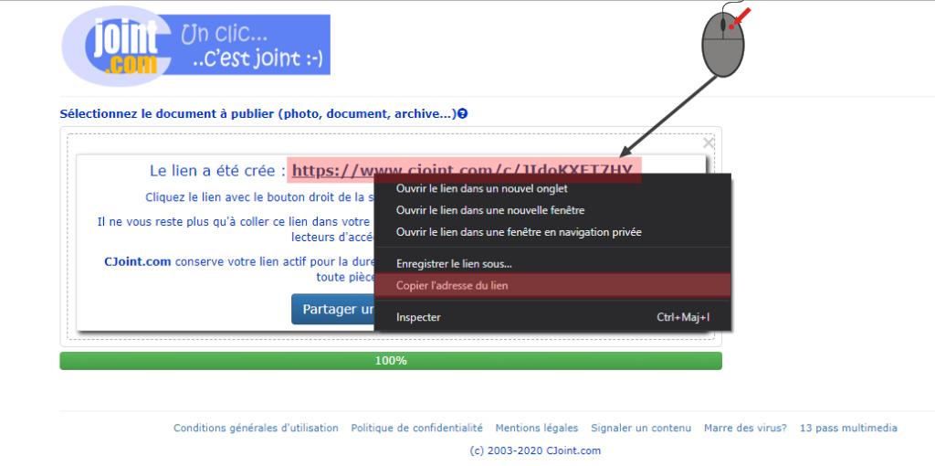 (TUTO) Utiliser un lien CJOINT pour la radio personnalisé Copier10