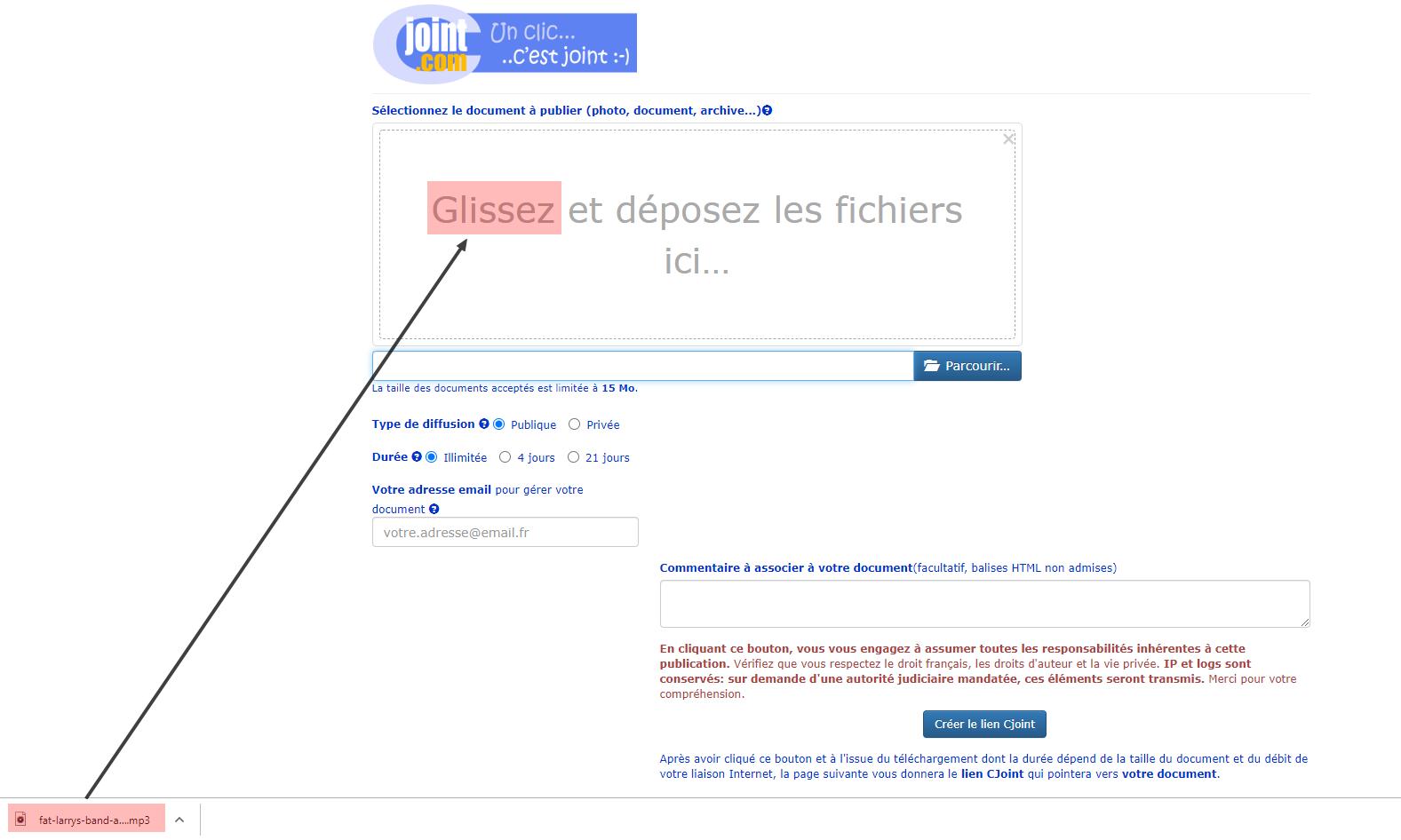 (TUTO) Utiliser un lien CJOINT pour la radio personnalisé Glisse10