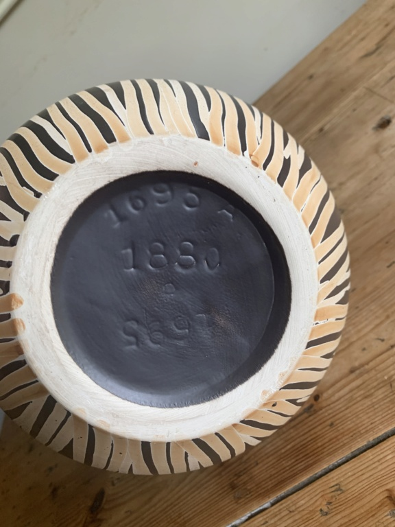 pottery vase, possibly German   54dea910