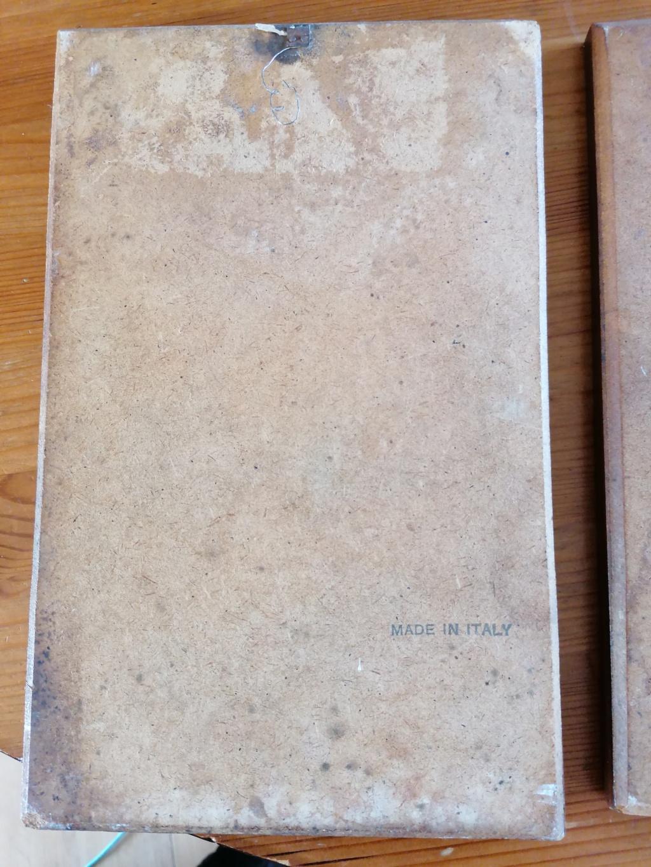 Italian Raised-Relief Ceramic / Enamel Wall Plaques Img_2028