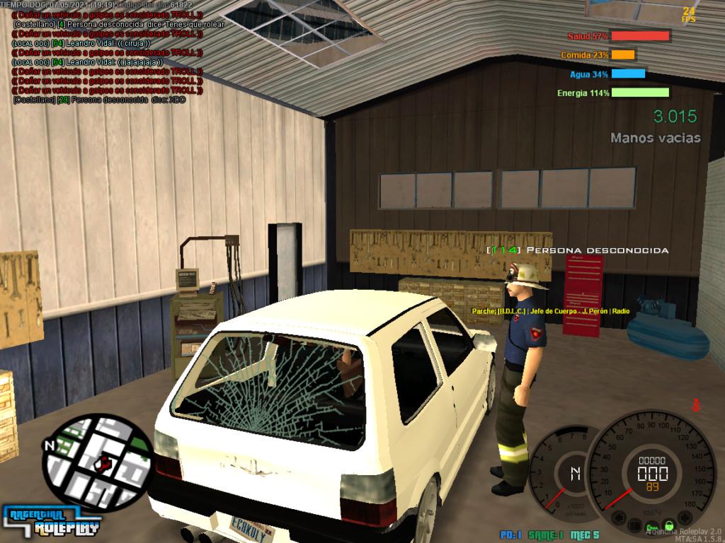 Reporte a Juan Peron DM Car Mta-sc13