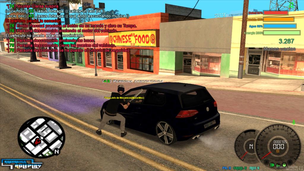 Reporte Jesus Arteaga DM Car sin motivos  Mta-sc19