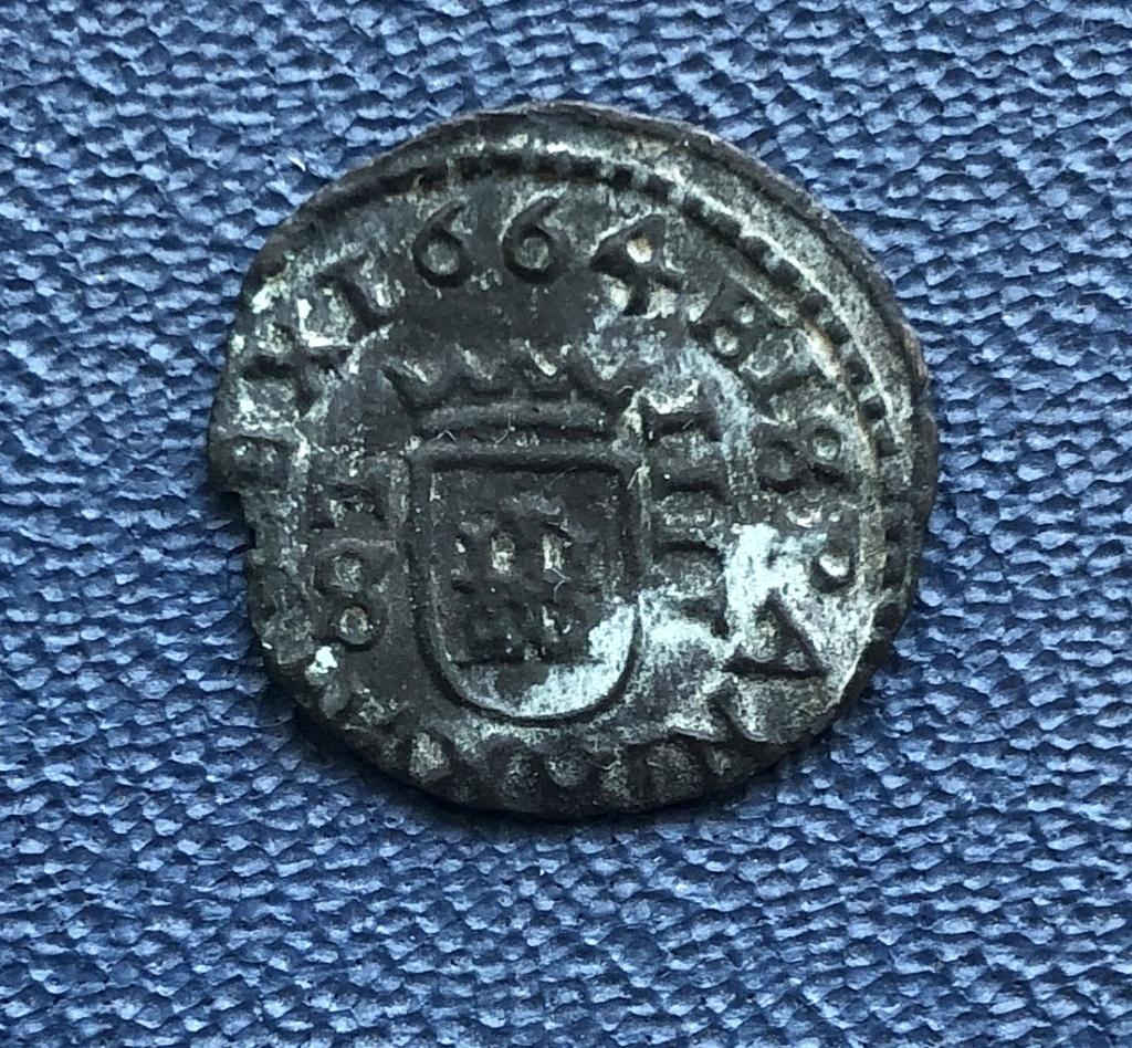 4 maravedís de Felipe IV de Madrid, 1664. 65543d10