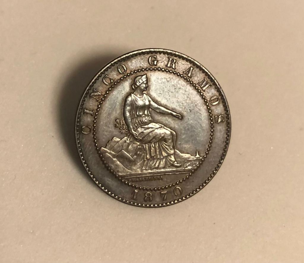 5 céntimos 1870. Gobierno Provisional 5ctm_110