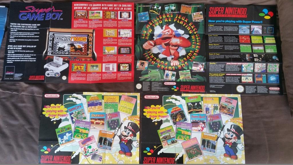 (Est) Vieux produits Nintendo (pubs, catalogues et autres) 20210912