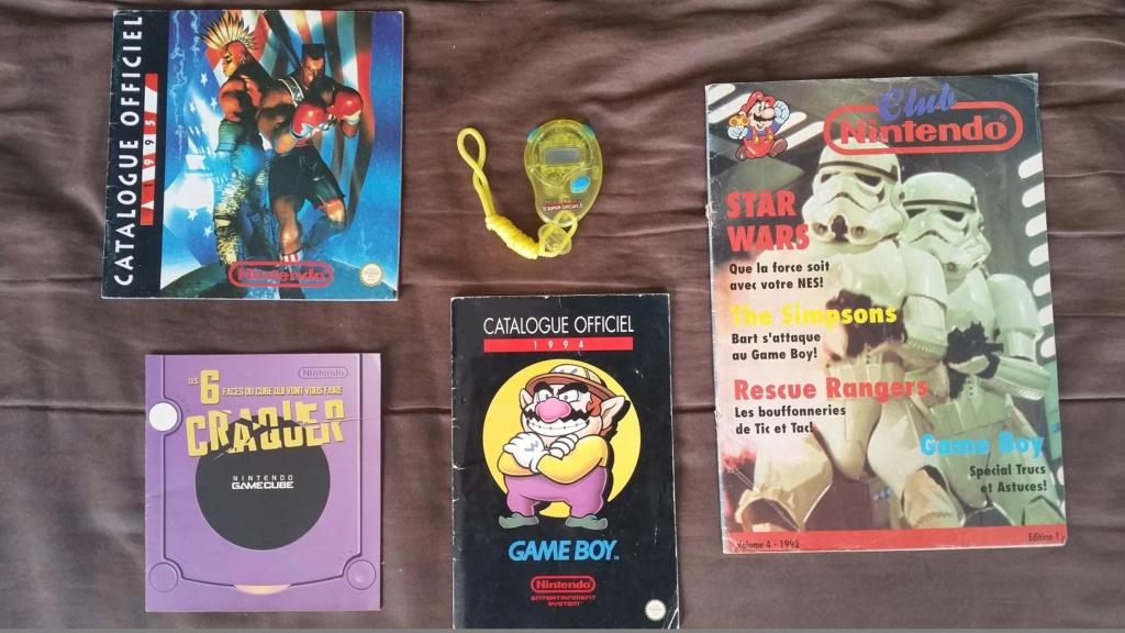 (Est) Vieux produits Nintendo (pubs, catalogues et autres) 20210913