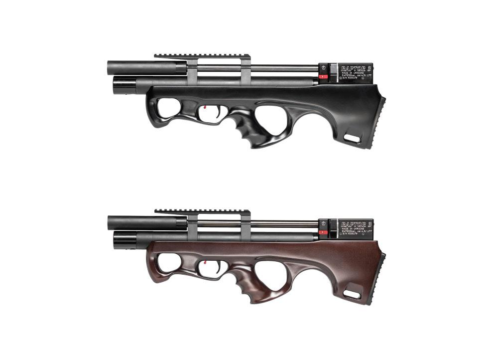 Raptor Airguns (Ukraine): bullpups .177 à puissance raisonnable (7.5J) Raptor10