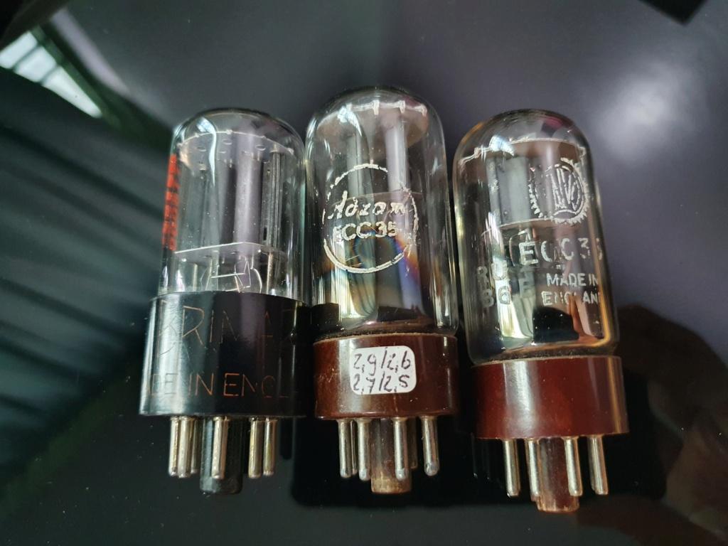 VALVO,ADZAM ECC35 and 6SL7 tubes 20210310